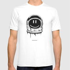 Astro SMALL Mens Fitted Tee White