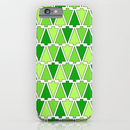 Holiday Tree Pattern iPhone & iPod Case