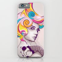 iPhone & iPod Case featuring I AM MY FAVORITE COLOR by Glen Garay