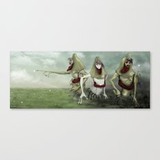 3 Lurkers  Canvas Print