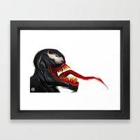 EXTRATERRESTRIAL Framed Art Print