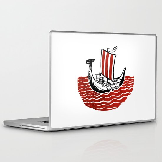 Lone Viking Laptop & iPad Skin