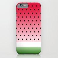 iPhone & iPod Case featuring Juicy Watermelon by Eileen Paulino