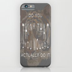 ANALOG: TONY, THE TIGER iPhone 6 Slim Case