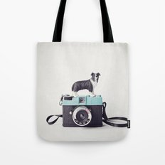 The Collie and The Diana Tote Bag