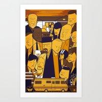 Breaking Bad (yellow Ver… Art Print