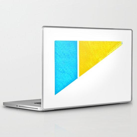 - minimal beach - Laptop & iPad Skin