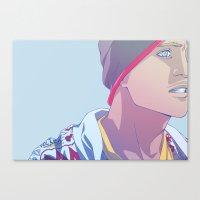 Down (Jesse Pinkman - Breaking Bad) Canvas Print