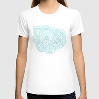 good vibes Womens Fitted Tee White SMALL