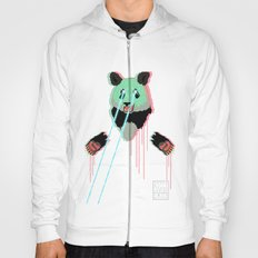 Panda with F$%king Lazers Hoody