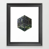 Nature elements 2 Framed Art Print