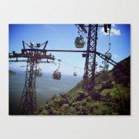 Fast Lane | Trolley Canvas Print