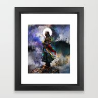 Witchers Dream Framed Art Print