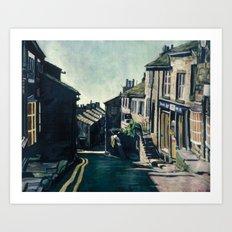 Haworth, England Art Print