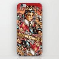 King of the Pop iPhone & iPod Skin