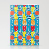 Rocket Parts Stationery Cards