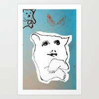 Bear1 Art Print