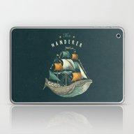 Whale   Petrol Grey Laptop & iPad Skin