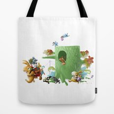 Moving Tote Bag