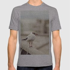 Seagull Mens Fitted Tee Athletic Grey SMALL