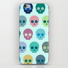 Colorful Skull Cute Pattern iPhone & iPod Skin