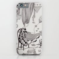 iPhone & iPod Case featuring Falling Up by Judith Clay