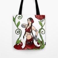 Bellydance: Queen of Hearts Tote Bag