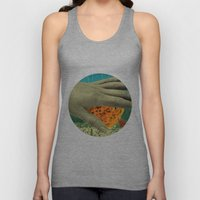 wake up and smell the flowers Unisex Tank Top