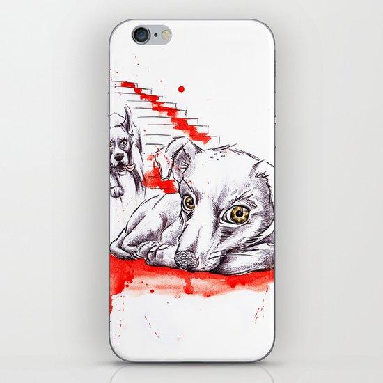 Dogs iPhone & iPod Skin