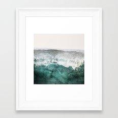 montagne liquide Framed Art Print