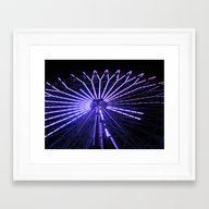 Electric Purple Sapporo Framed Art Print