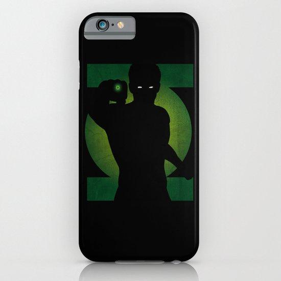 SuperHeroes Shadows : Green Lantern iPhone & iPod Case