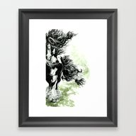 Gypsy Vanner Framed Art Print