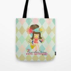 fabulous girl Tote Bag