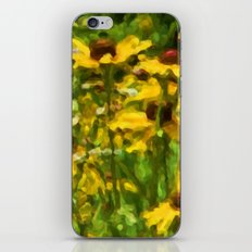 Wildflowers Painting iPhone & iPod Skin