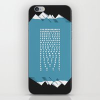 NZ Ski Fields iPhone & iPod Skin