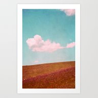 Art Print featuring Summer Feel by Claudia Drossert