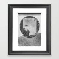 Clouded Framed Art Print