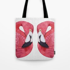 Pink Flamingos 2016 (white) Tote Bag