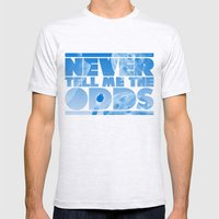THE ODDS Mens Fitted Tee Ash Grey SMALL