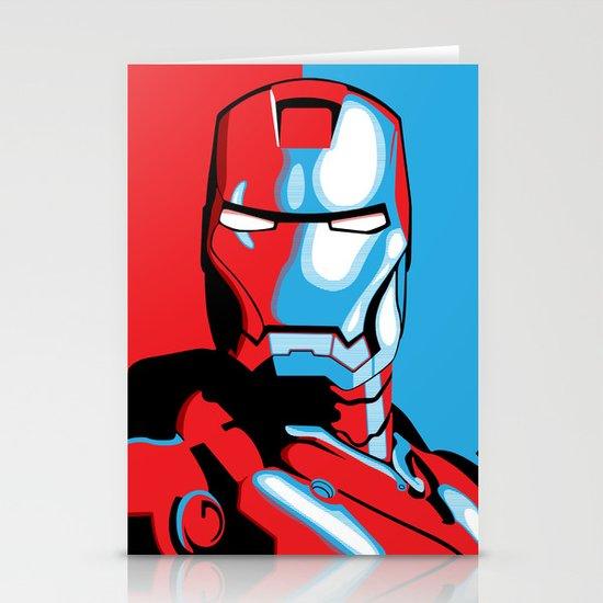 Iron Man Stationery Card