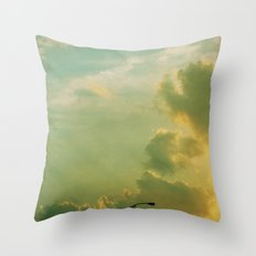 Sunday Night Lights Throw Pillow