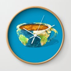 Coffee World Wall Clock