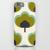 green flowers iPhone 6 Slim Case