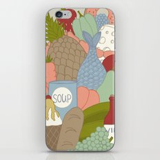 GROCERY BAG iPhone & iPod Skin