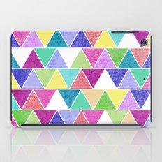 Triangle Print; iPad Case