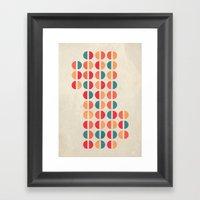 Halfsies I Framed Art Print
