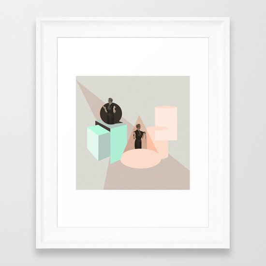 Not Constant Framed Art Print