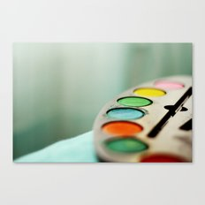 Colors* Canvas Print