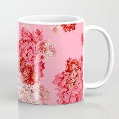 hydrangea (doubled) Mug
